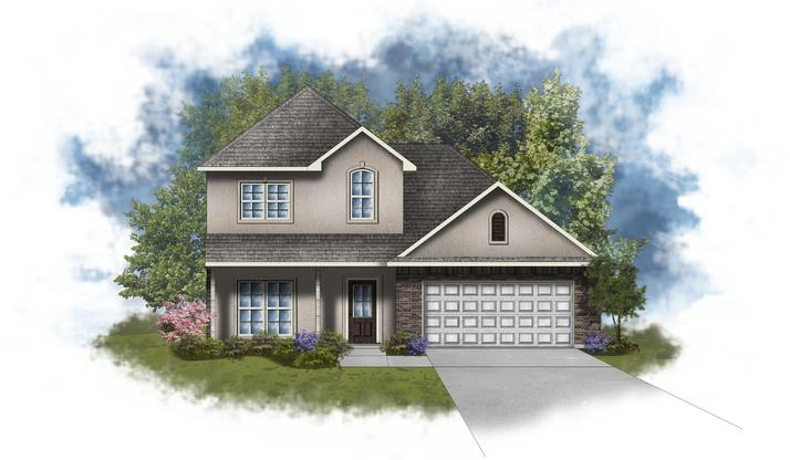 Willowbrook II A - Open Floor Plan - DSLD Homes