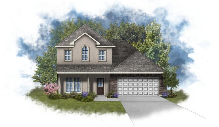 Willowbrook II B - Open Floor Plan - DSLD Homes