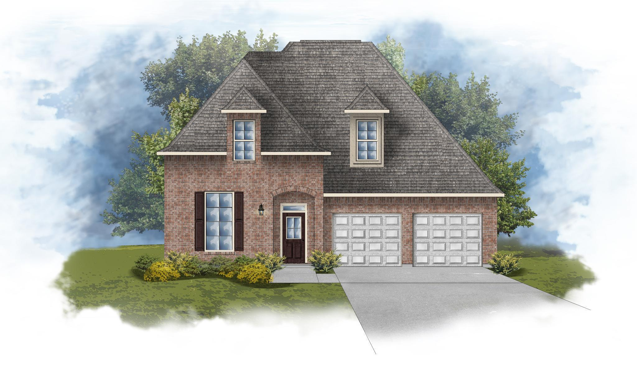 Exterior featured in the Verbena III A By DSLD Homes - Mississippi in Biloxi, MS