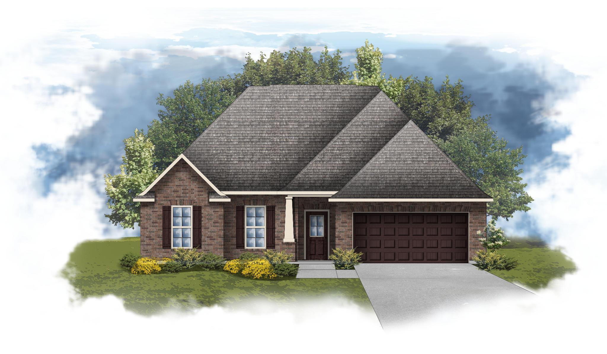 Exterior featured in the Solace II A By DSLD Homes - Alabama in Mobile, AL