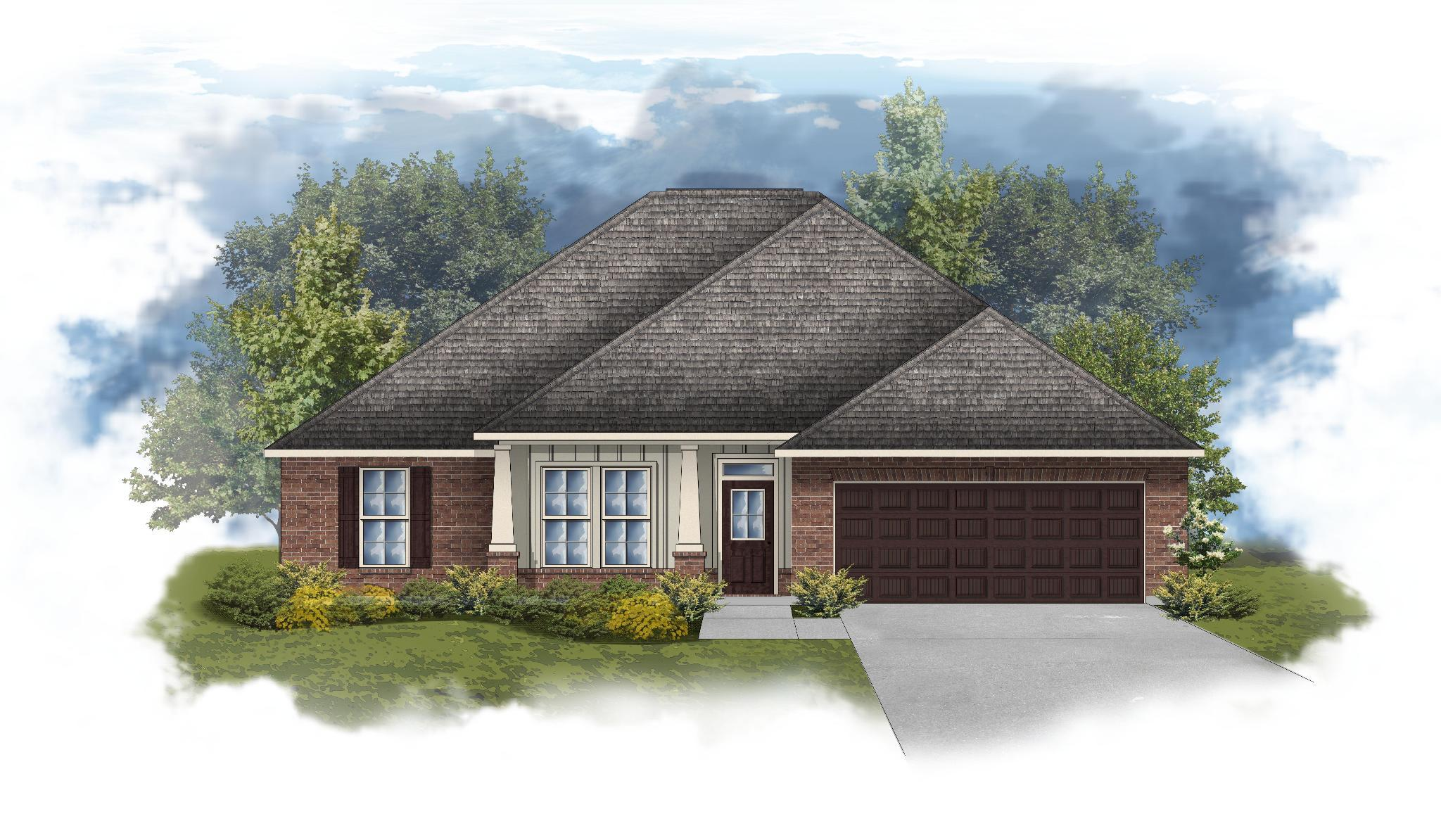 Exterior featured in the Ionia II A By DSLD Homes - Mississippi in Biloxi, MS