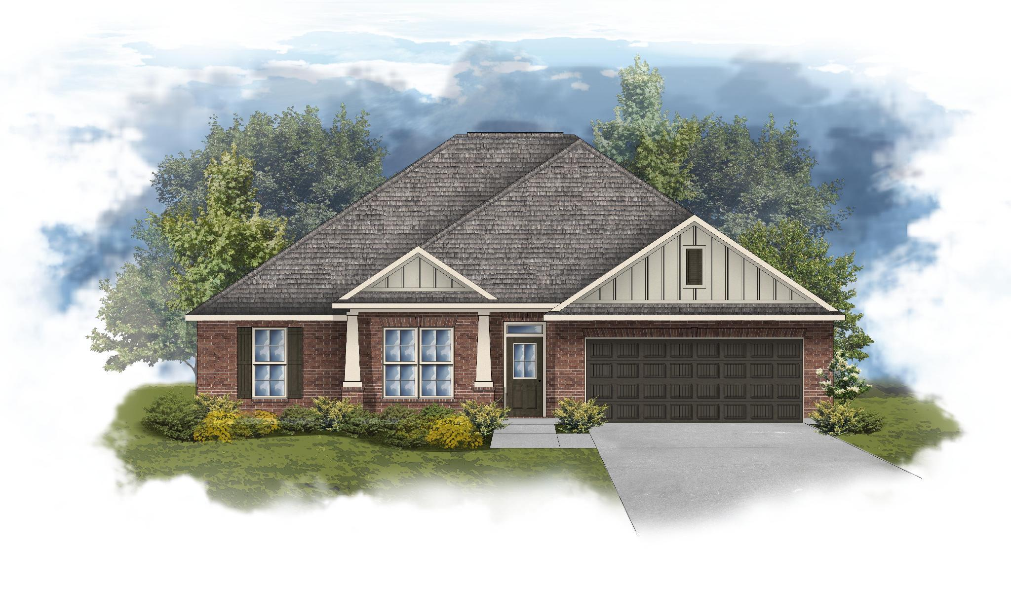 Exterior featured in the Ionia II B By DSLD Homes - Alabama in Mobile, AL