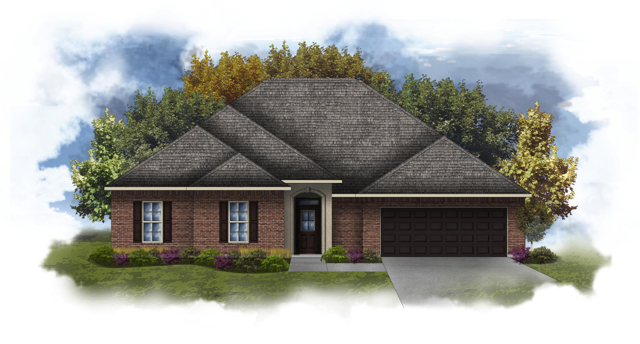 Exterior featured in the Coolidge III A By DSLD Homes - Mississippi in Biloxi, MS