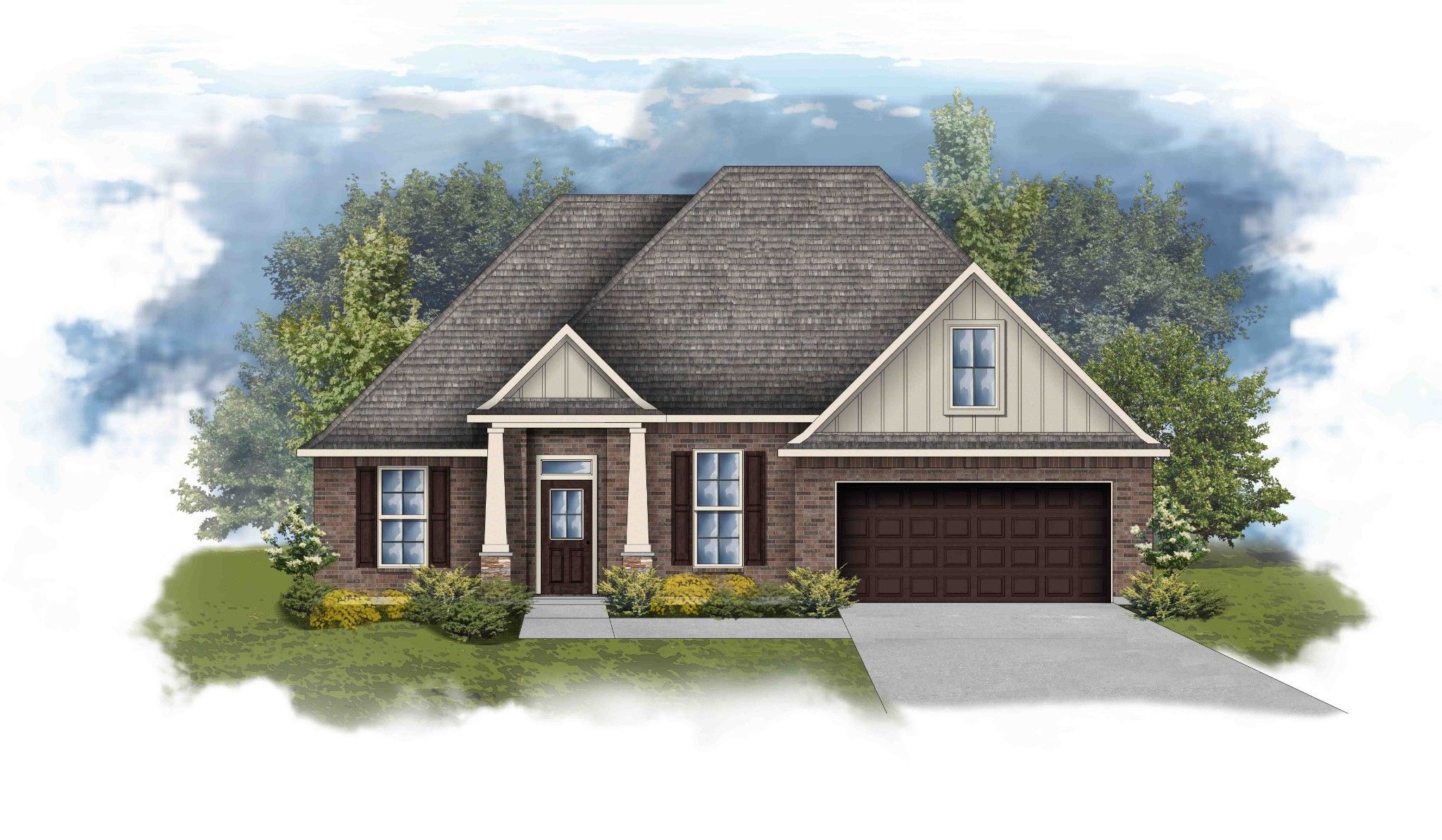 Exterior featured in the Riverside IV B By DSLD Homes - Alabama in Mobile, AL