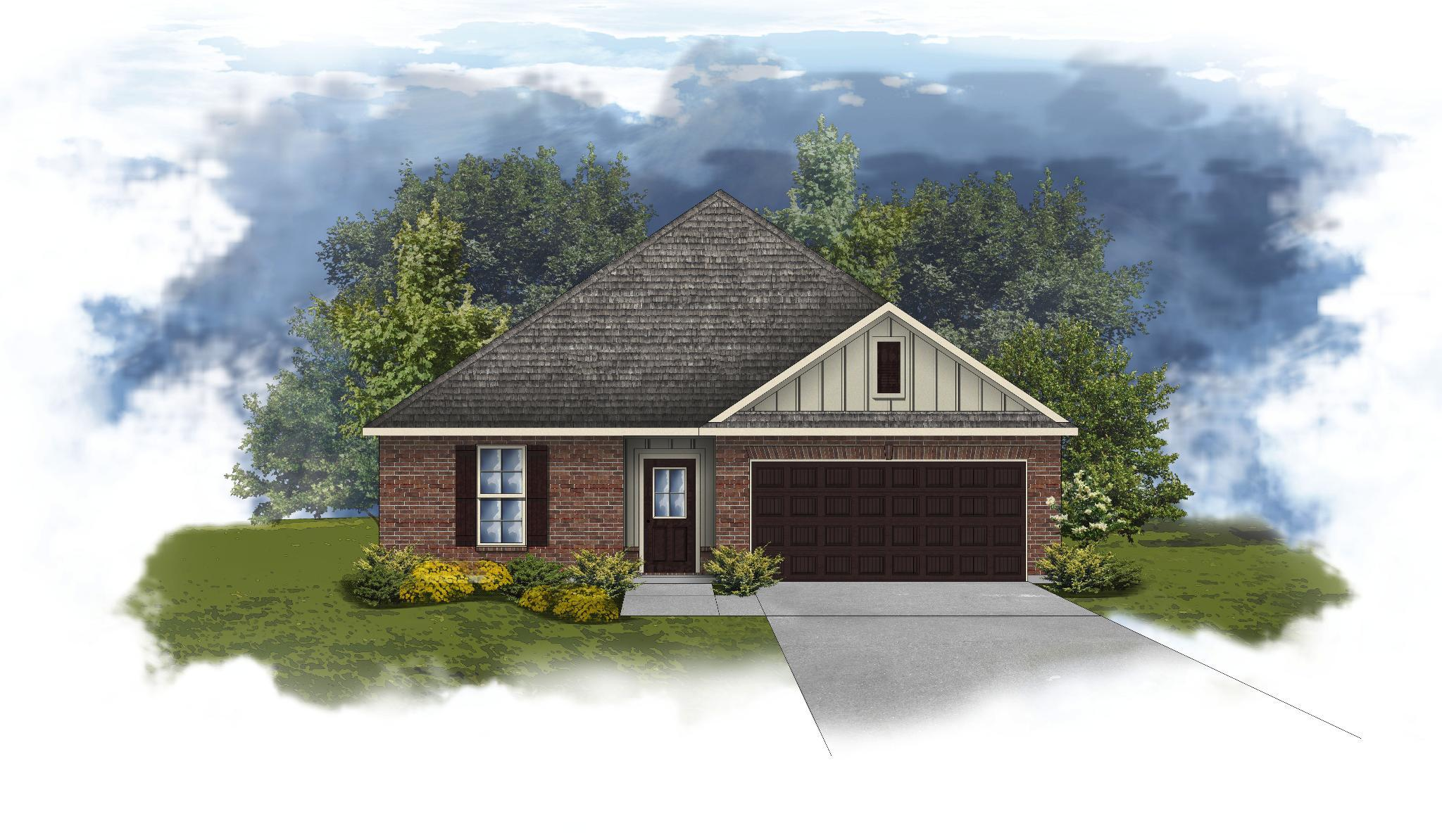 Exterior featured in the Crescent II A By DSLD Homes - Alabama in Mobile, AL