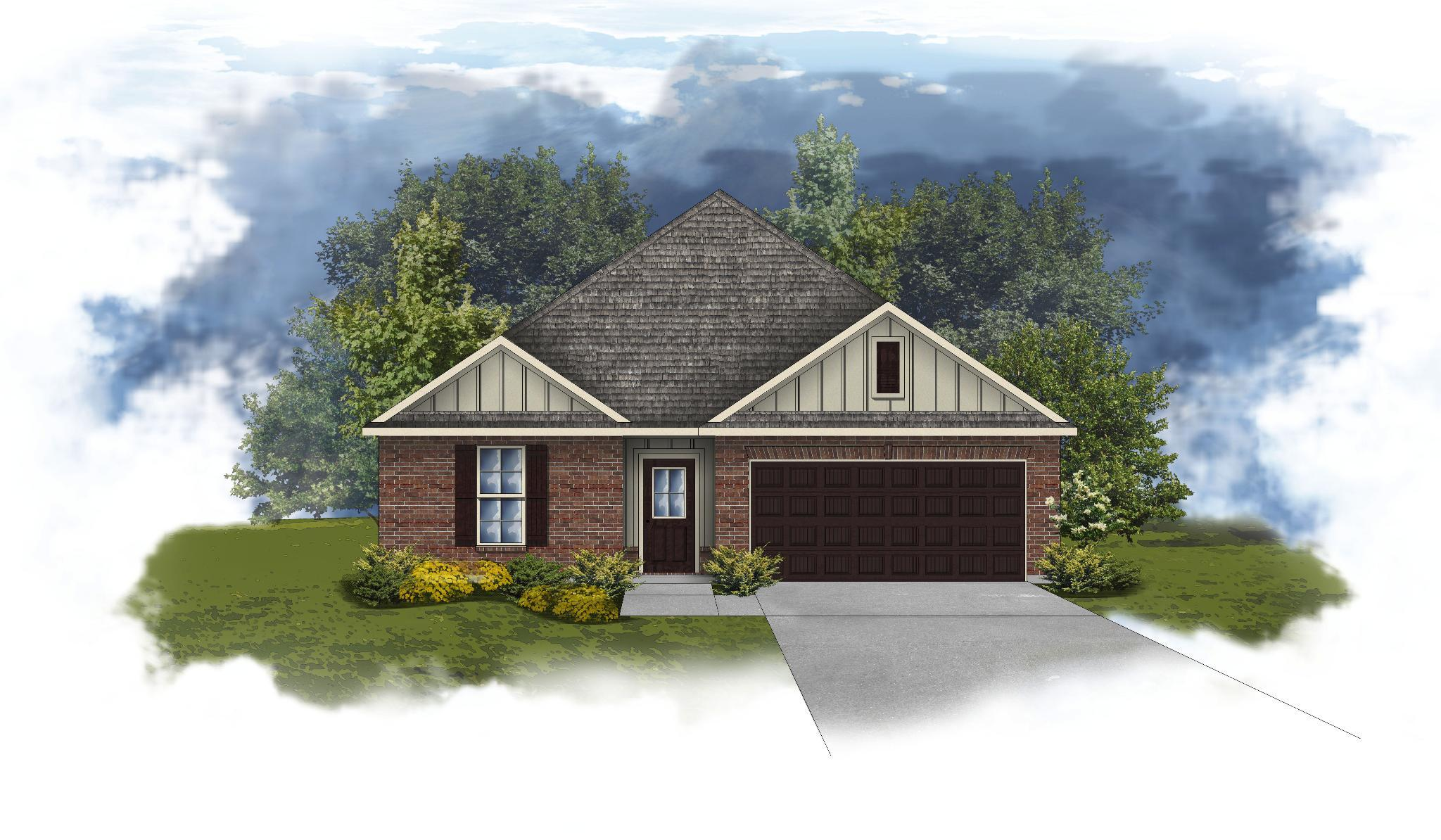 Exterior featured in the 6063 CHEYENNE DRIVE By DSLD Homes - Alabama in Pensacola, FL