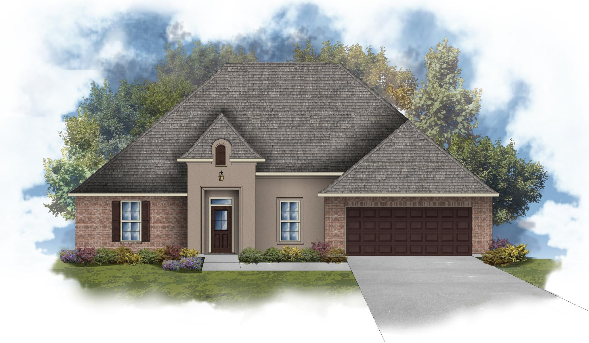 Exterior featured in the Arthur III A By DSLD Homes - Alabama in Mobile, AL