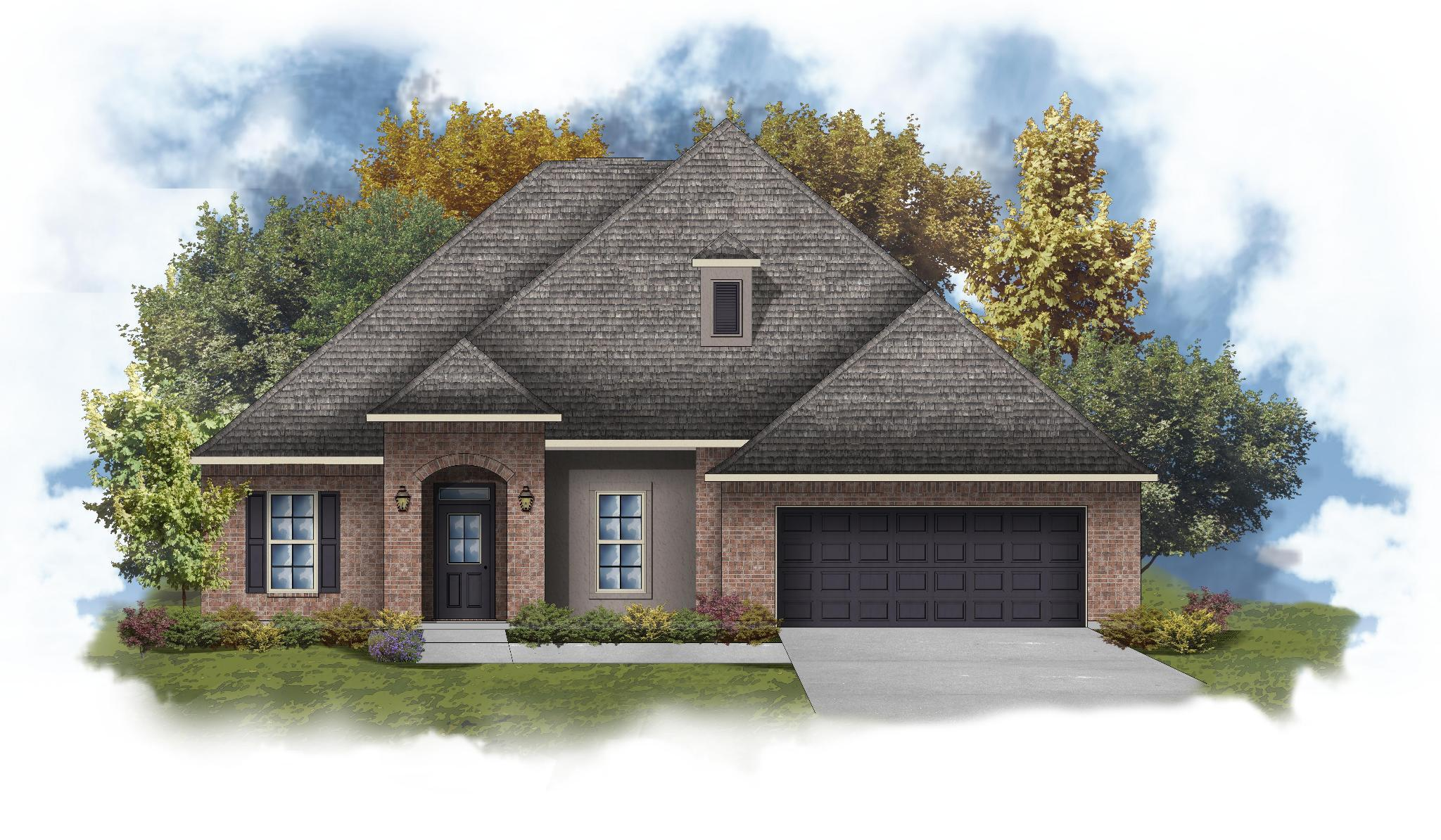 Exterior featured in the Wheeler III A By DSLD Homes - Mississippi in Biloxi, MS
