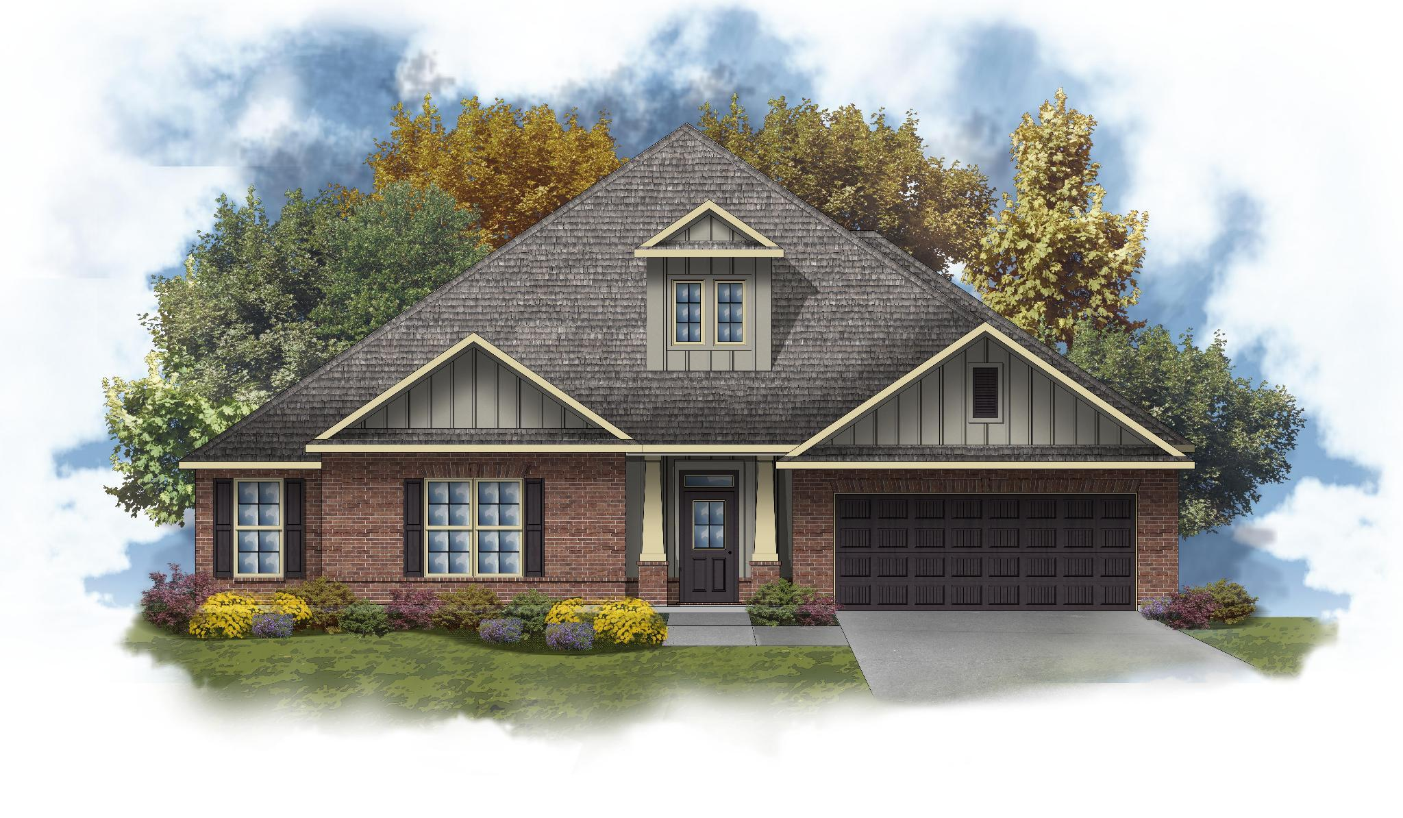 Exterior featured in the Truman III B By DSLD Homes - Florida in Pensacola, FL