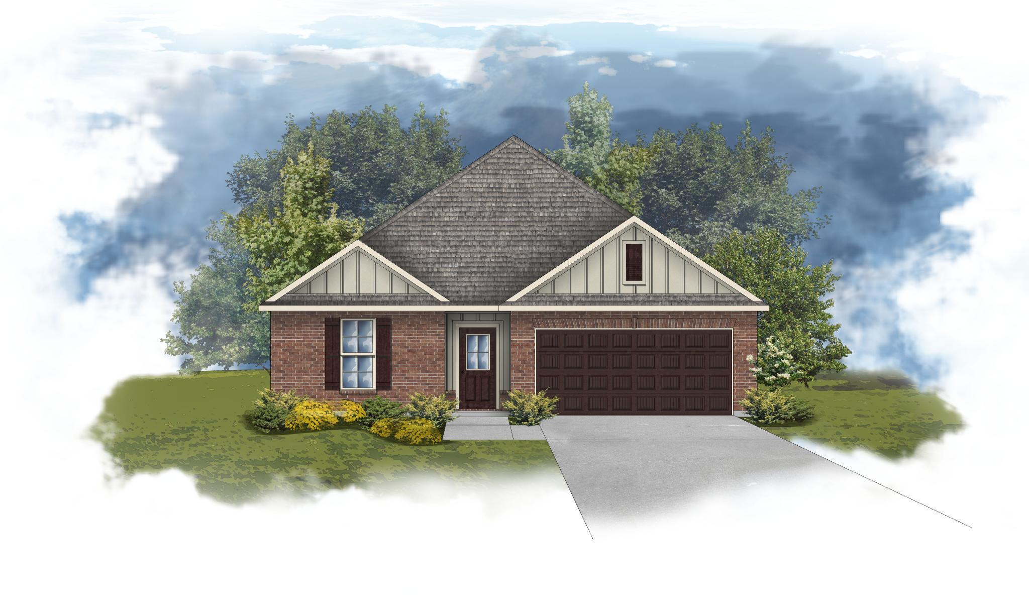 Exterior featured in the Crescent II H By DSLD Homes - Florida in Pensacola, FL
