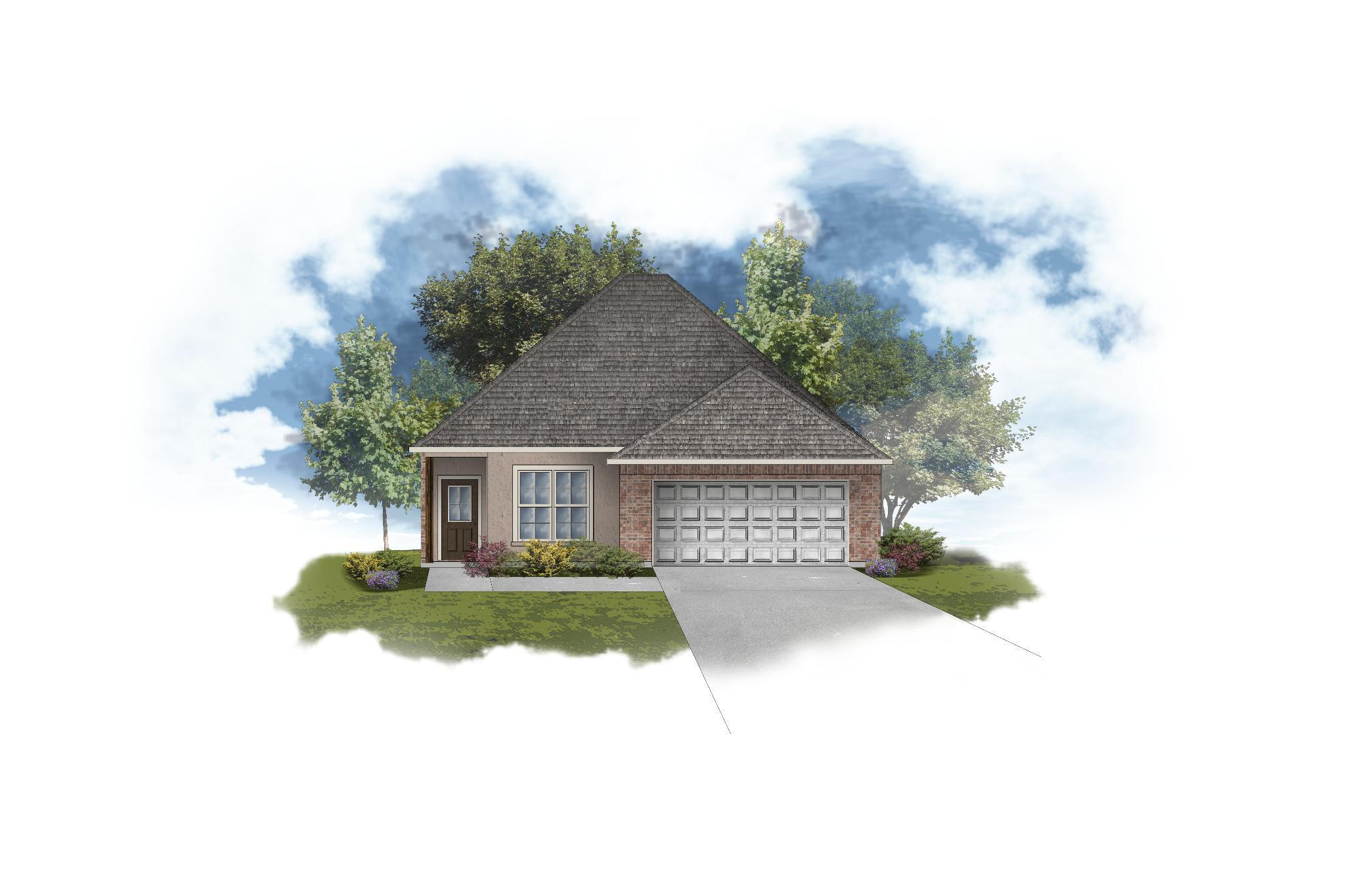 Exterior featured in the Buttercup III B By DSLD Homes - Alabama in Mobile, AL