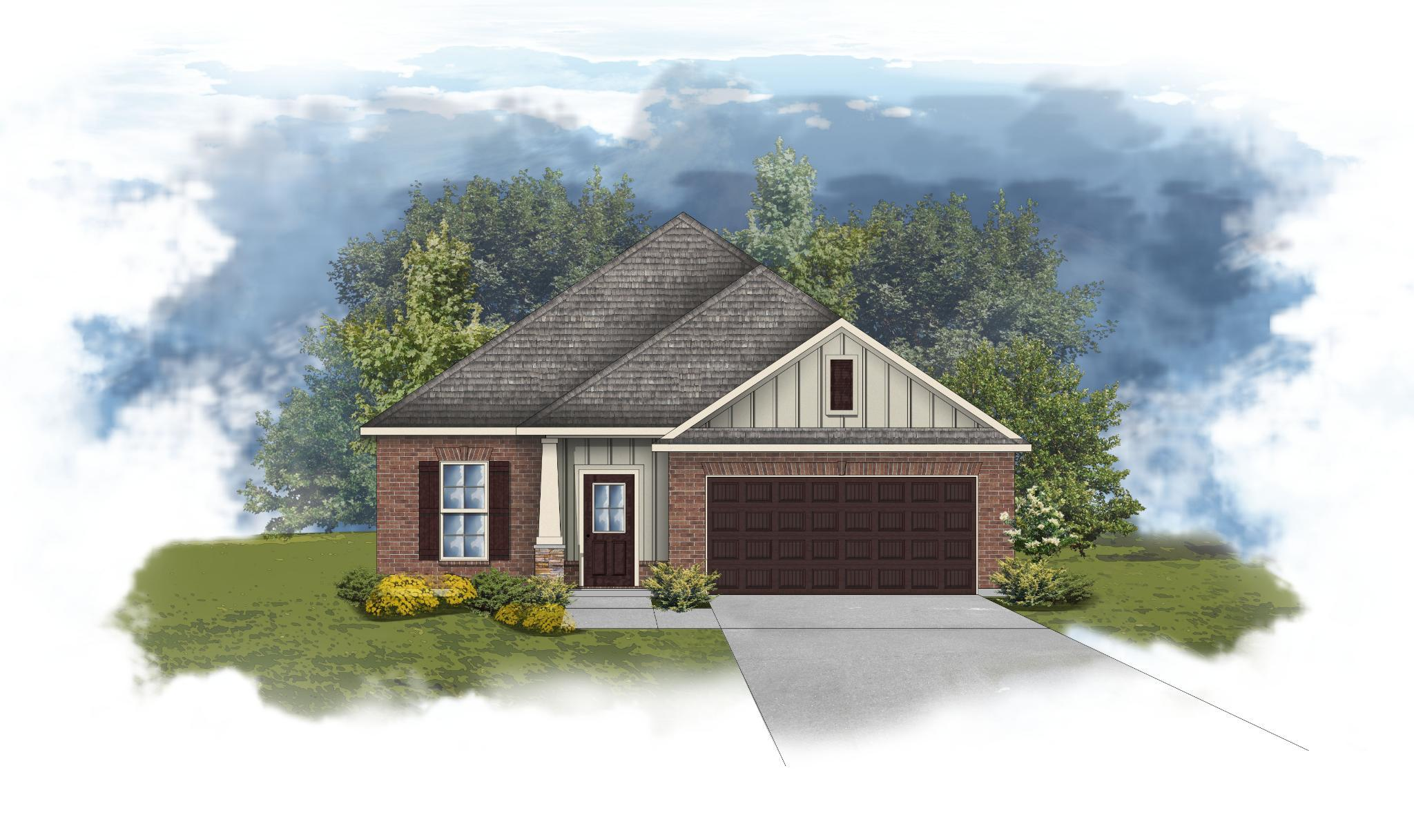 Exterior featured in the Durham II A - CY By DSLD Homes - Alabama in Mobile, AL