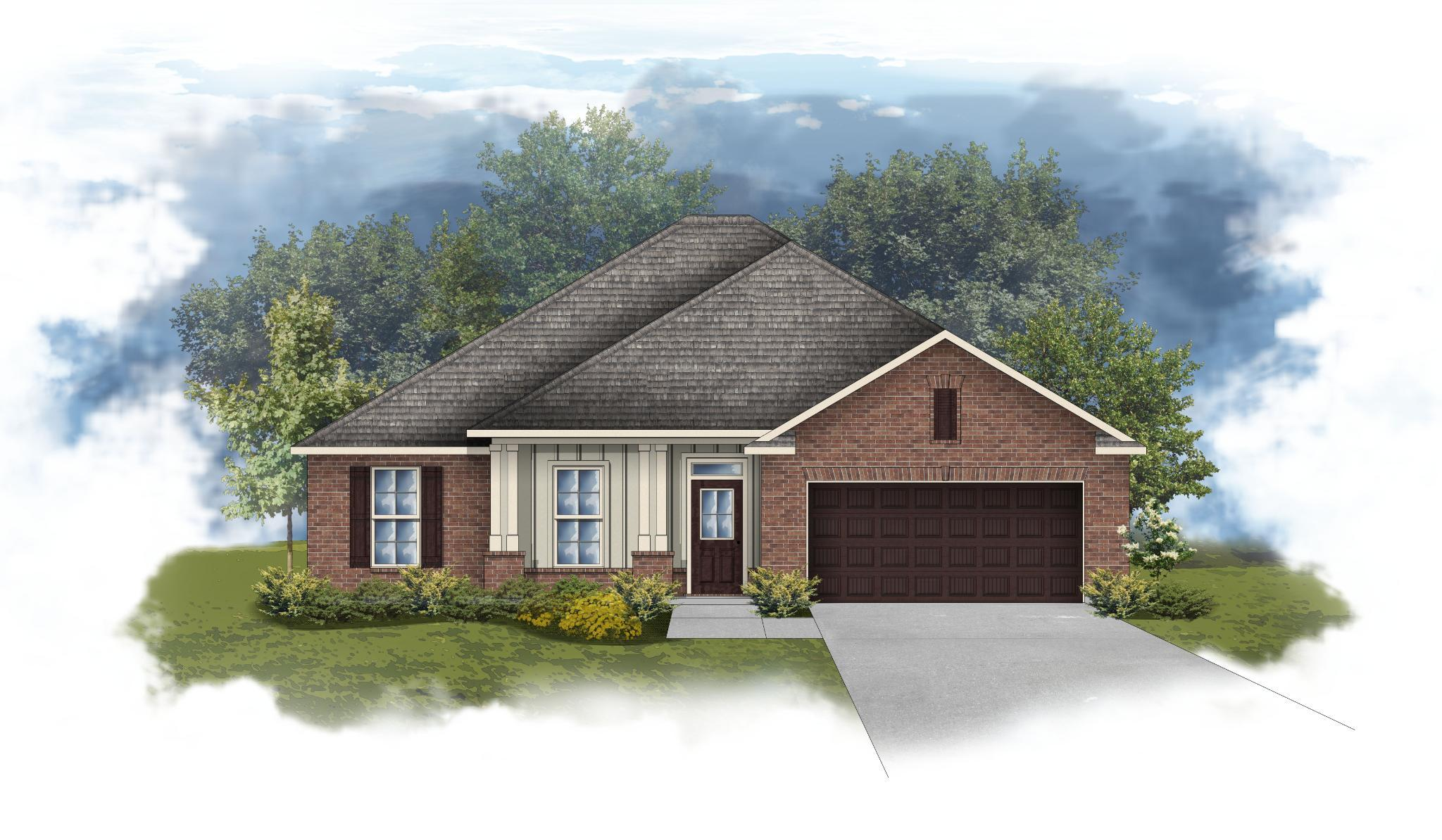 Exterior featured in the Rodessa III A By DSLD Homes - Florida in Pensacola, FL