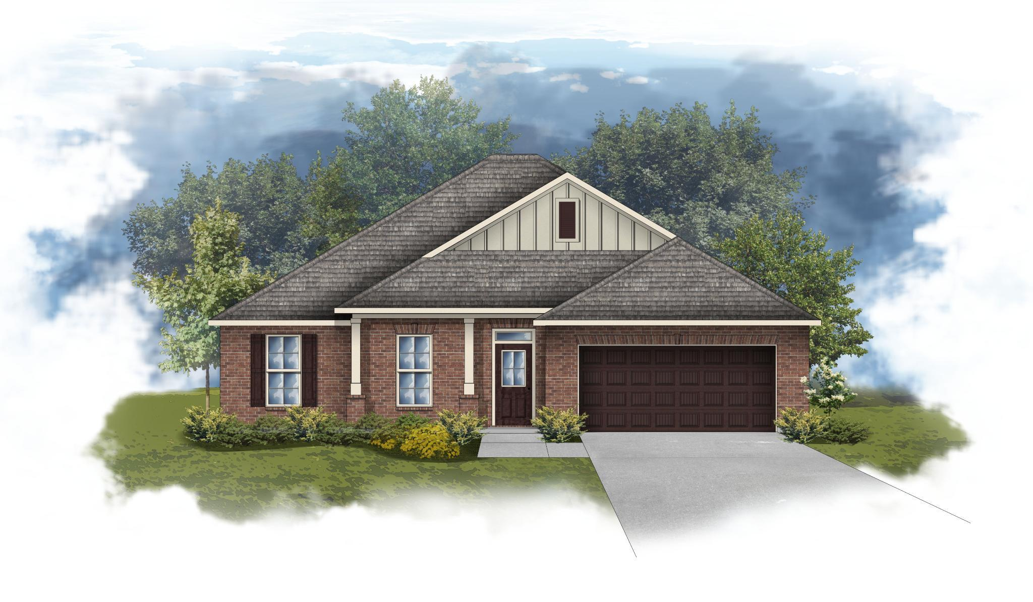 Exterior featured in the Rodessa III B By DSLD Homes - Alabama in Mobile, AL