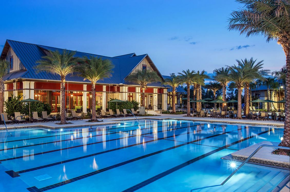 Mcaneny builders in jacksonville florida for Pool builders jacksonville florida