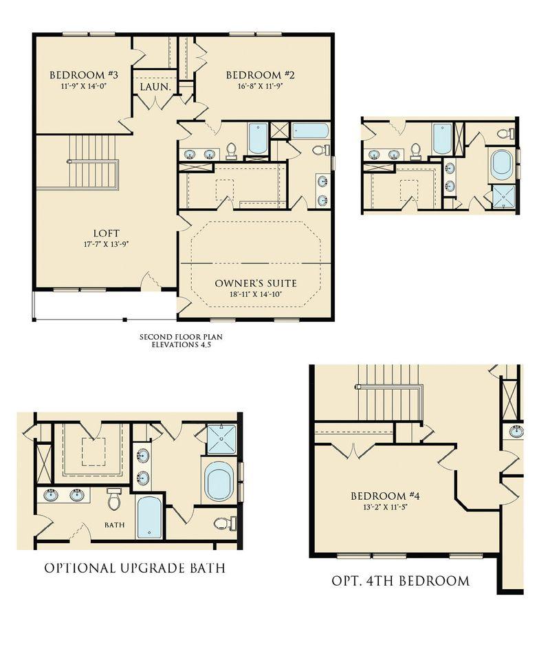 Laurel Ii Home Plan By Dan Ryan Builders In Summers Ridge