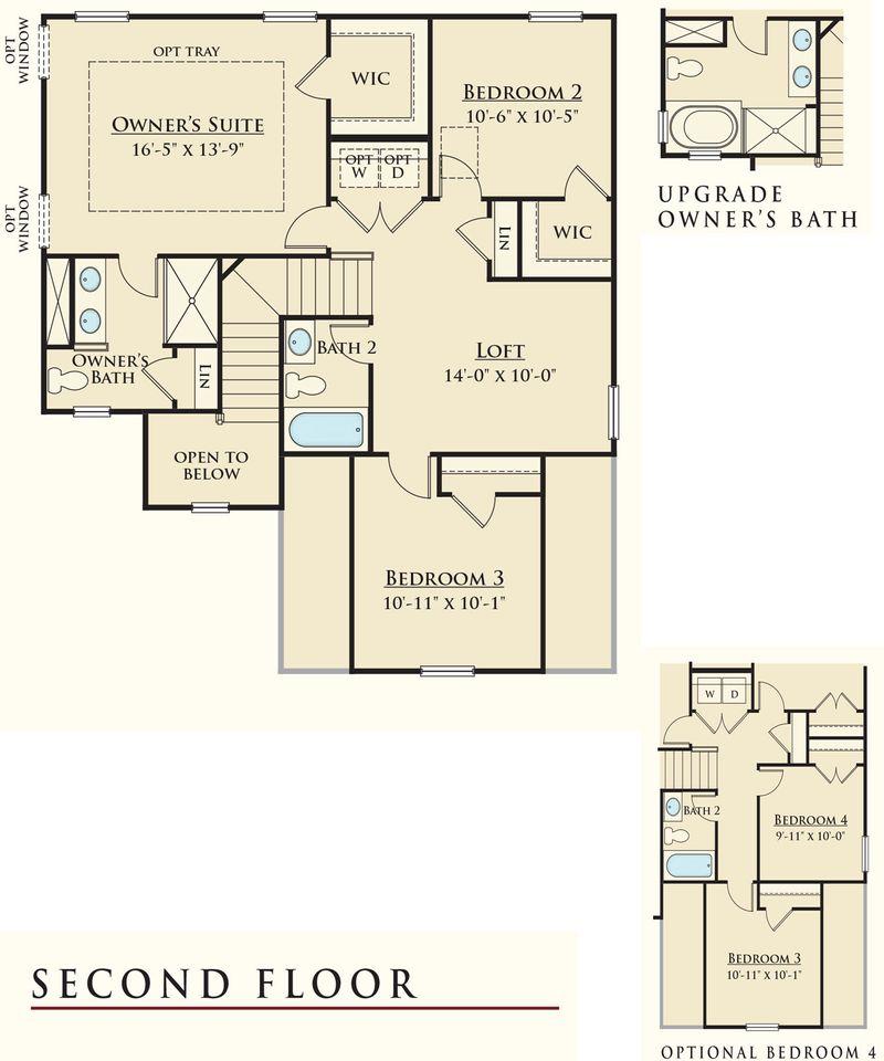 Dan ryan builders floor plans dan ryan builders oxford for Simmons homes floor plans