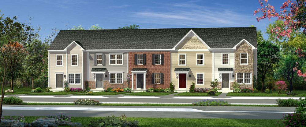 Madison ii home plan by dan ryan builders in canterbury for Madison home builders house plans