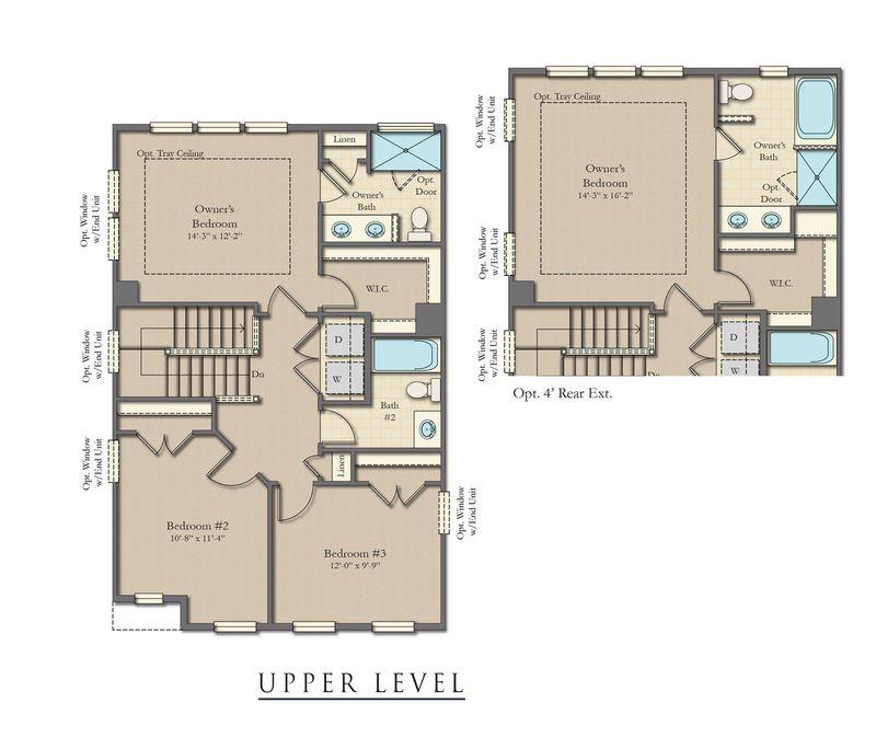 Windsor Ii Home Plan By Dan Ryan Builders In Suncrest Village