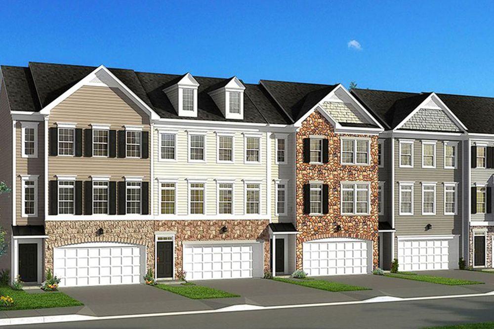 Windsor ii home plan by dan ryan builders in suncrest village for West virginia home builders