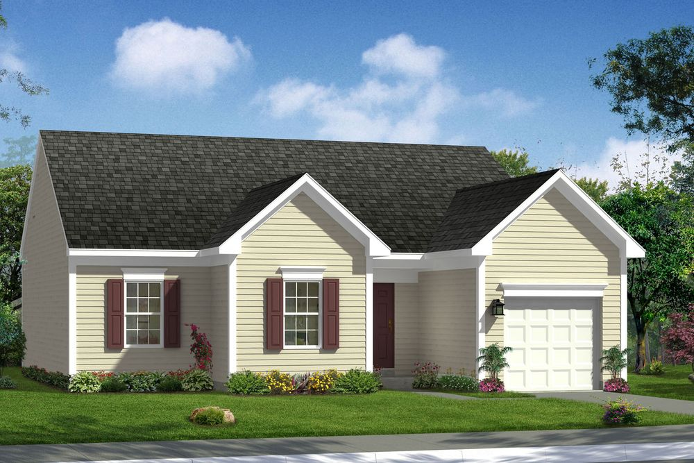 Wyatt ii home plan by dan ryan builders in the meadows for Wv home builders
