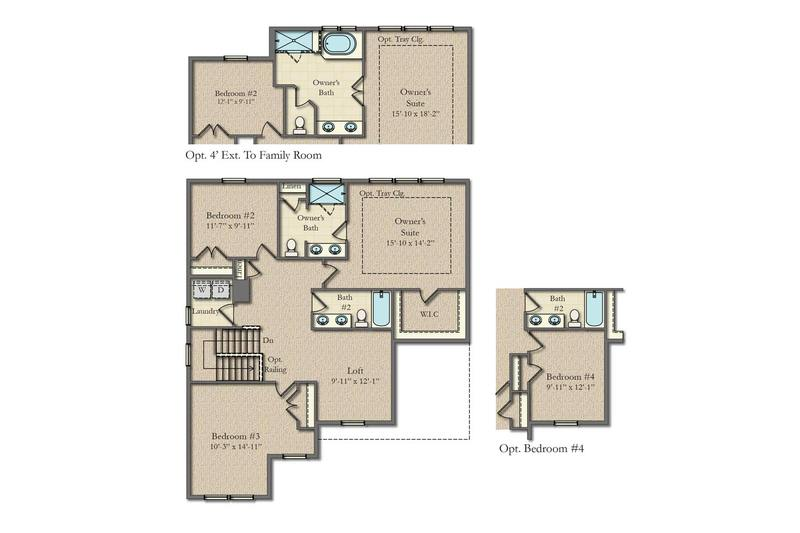 Morgan Ii Home Plan By Dan Ryan Builders In Harvest Ridge