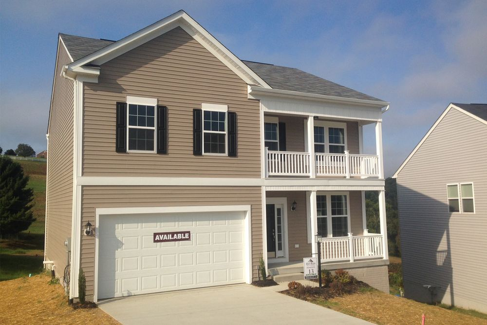 Cumberland ii model at 119 summers ridge circle for Home builders in west virginia