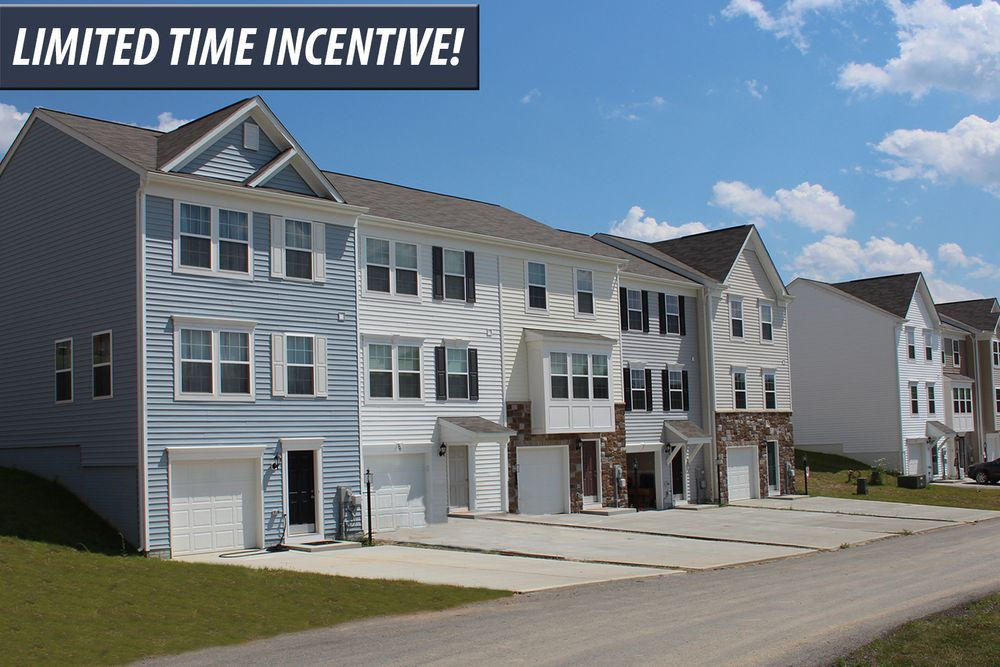 The Meadows Townhomes In Maidsville Wv By Dan Ryan Builders