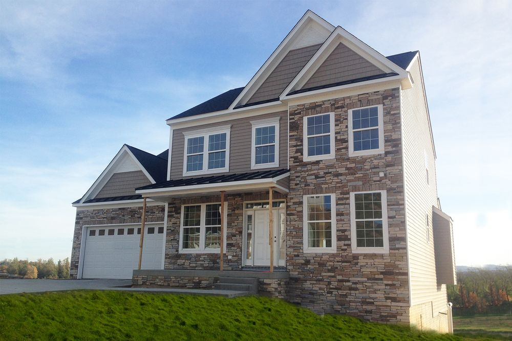 Fairfax ii model at 1010 october way for West virginia home builders