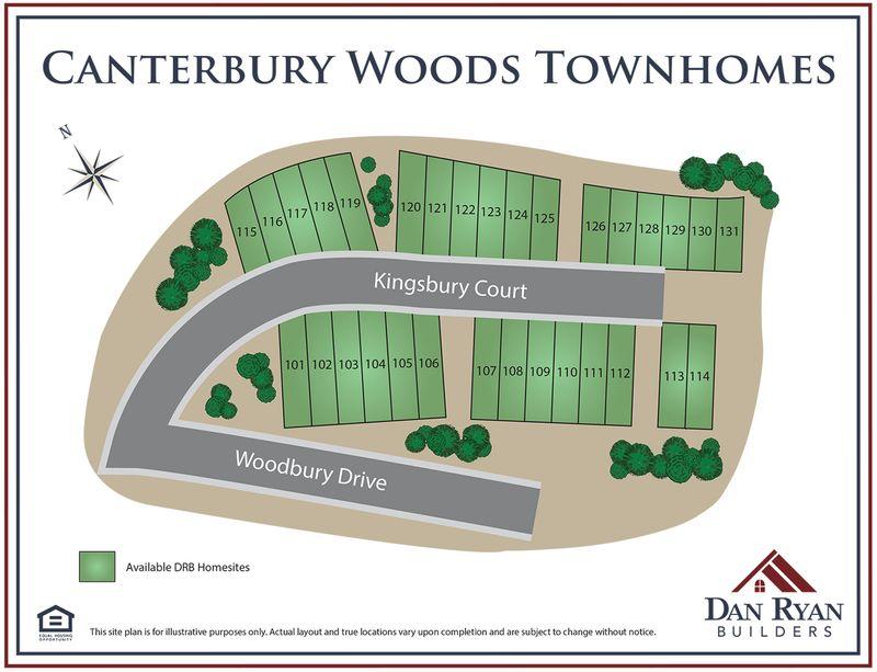 Canterbury Woods Townhomes In Fairmont Wv By Dan Ryan