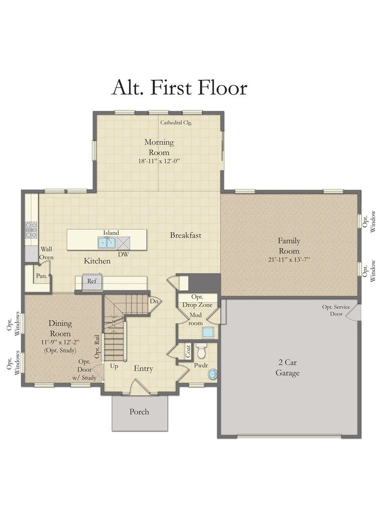 Alt first Floor