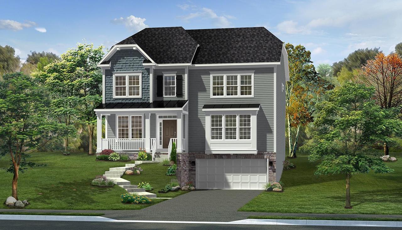 Williamsport II Home Plan by Dan Ryan Builders in ... on riley home plan, ashby home plan, breckenridge home plan,