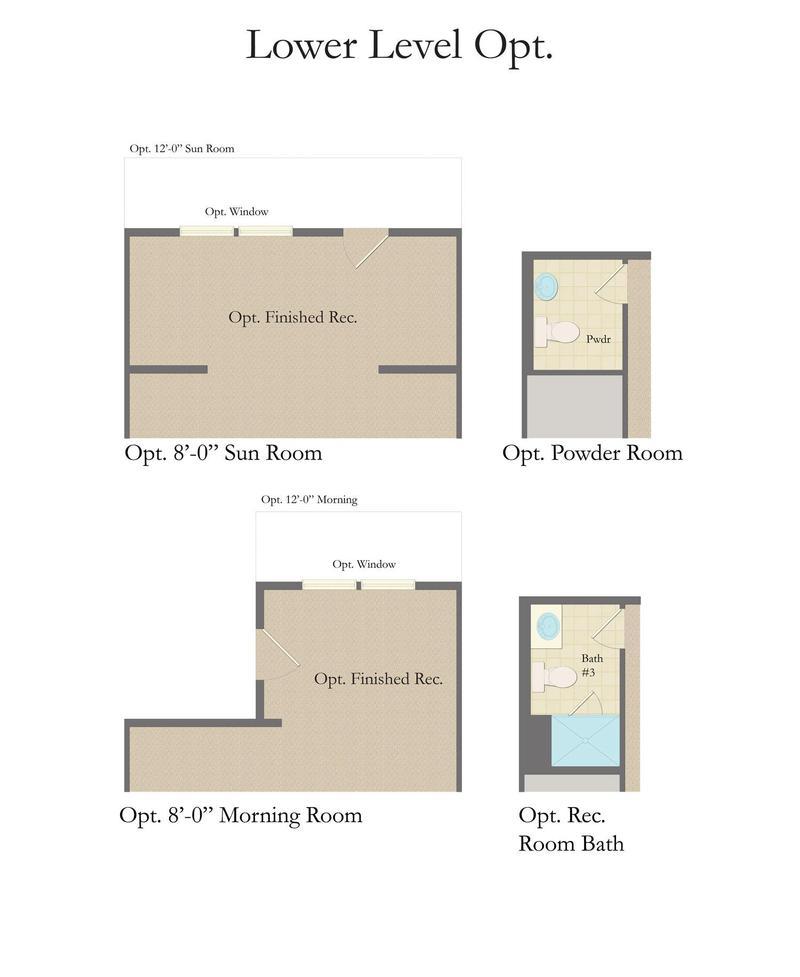 Canterbury Woods Apartments: Yorktown II Home Plan By Dan Ryan Builders In Canterbury