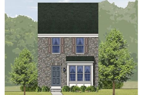 York II Grade-Design-at-Canterbury Woods - Townhomes-in-Fairmont