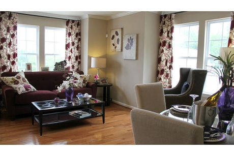 Greatroom-in-York II Grade-at-Canterbury Woods - Townhomes-in-Fairmont