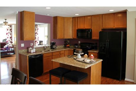 Kitchen-in-York II Grade-at-Canterbury Woods - Townhomes-in-Fairmont