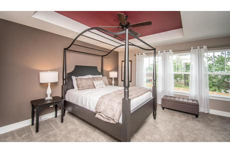 Bedroom-in-York II Garage-at-Canterbury Woods - Townhomes-in-Fairmont