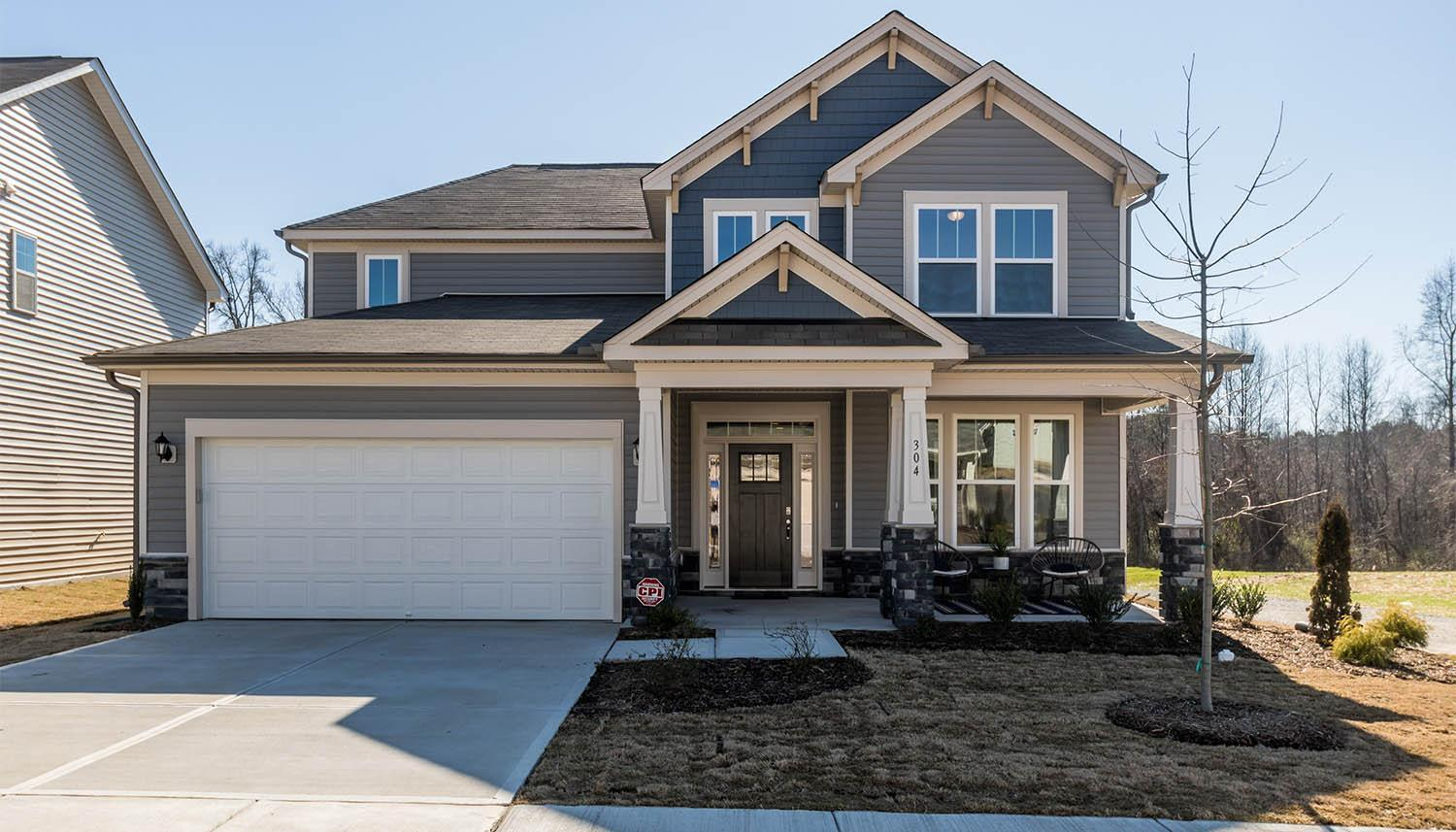 Woodlief In Youngsville Nc New Homes By Dan Ryan Builders