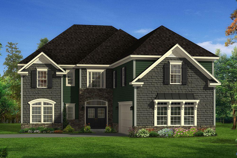 Irongate Home Plan By Dan Ryan Builders In Hunters Woods