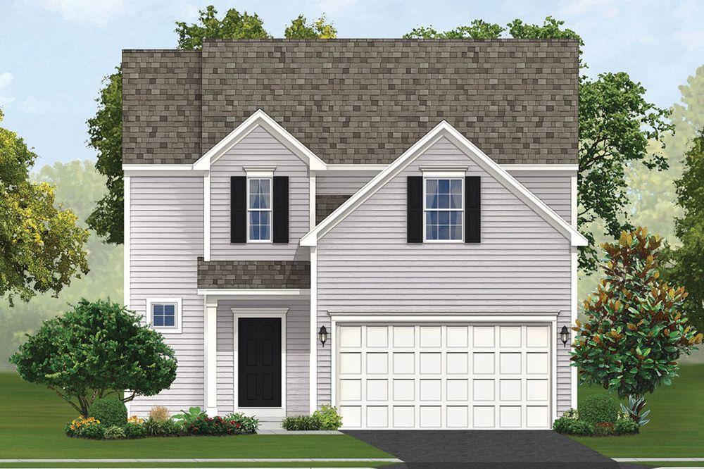 Mill Creek Home Plan By Dan Ryan Builders In Cedar Crossing