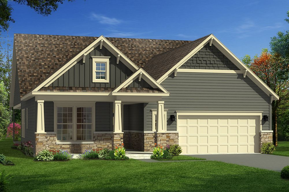 Catawba home plan by dan ryan builders in olde liberty estates for Home plans nc