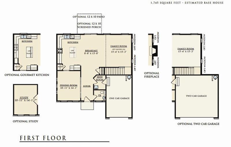 Rutledge Home Plan By Dan Ryan Builders In Summerlyn