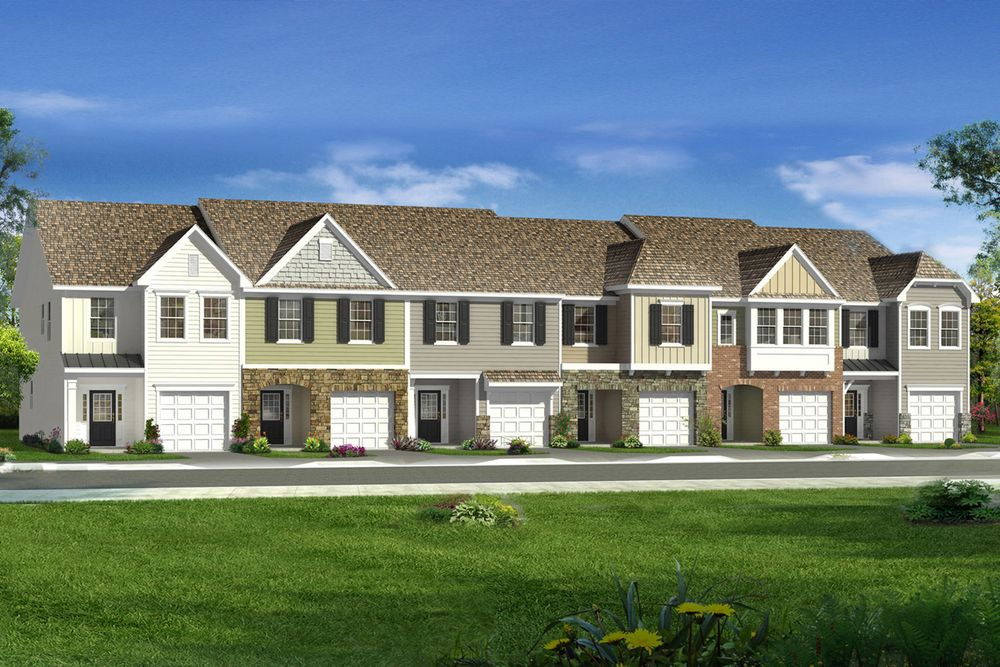 Litchfield home plan by dan ryan builders in stonegate for Stonegate farmhouse plans