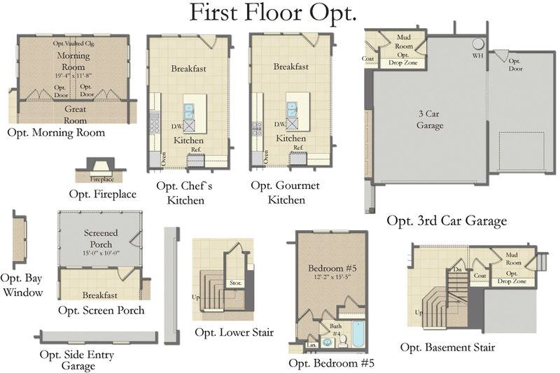 First Floor Options