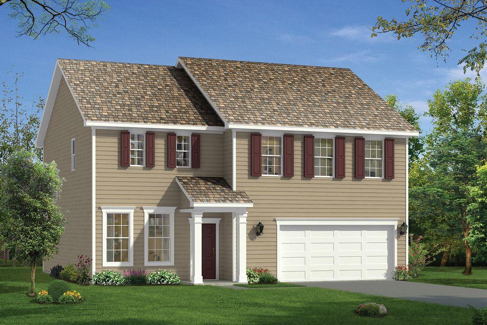 Elmhurst Home Plan By Dan Ryan Builders In Trace At Brightleaf
