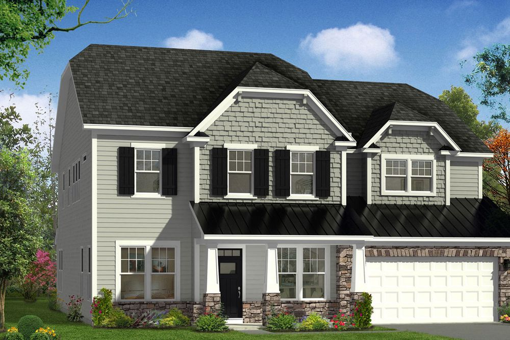Stonehaven home plan by dan ryan builders in stonegate for Stonegate farmhouse plans