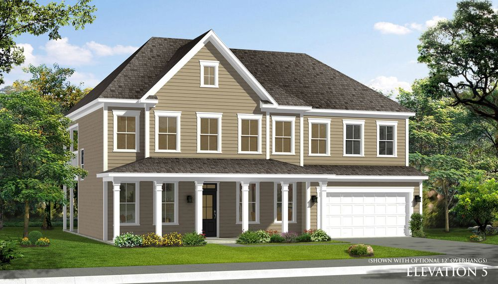 Stonefield home plan by dan ryan builders in stonegate for Stonegate farmhouse plans
