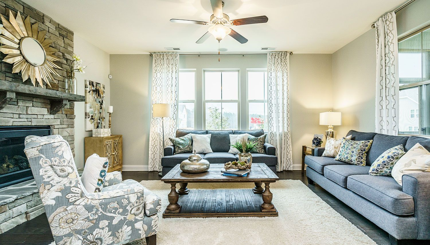 Living Area featured in the Stonefield By Dan Ryan Builders in Raleigh-Durham-Chapel Hill, NC