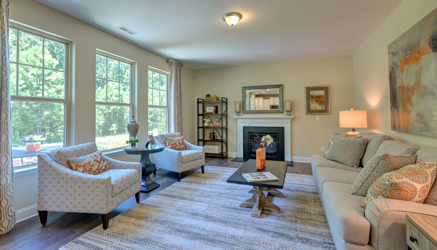 Living Area featured in the Elmhurst  By Dan Ryan Builders in Raleigh-Durham-Chapel Hill, NC
