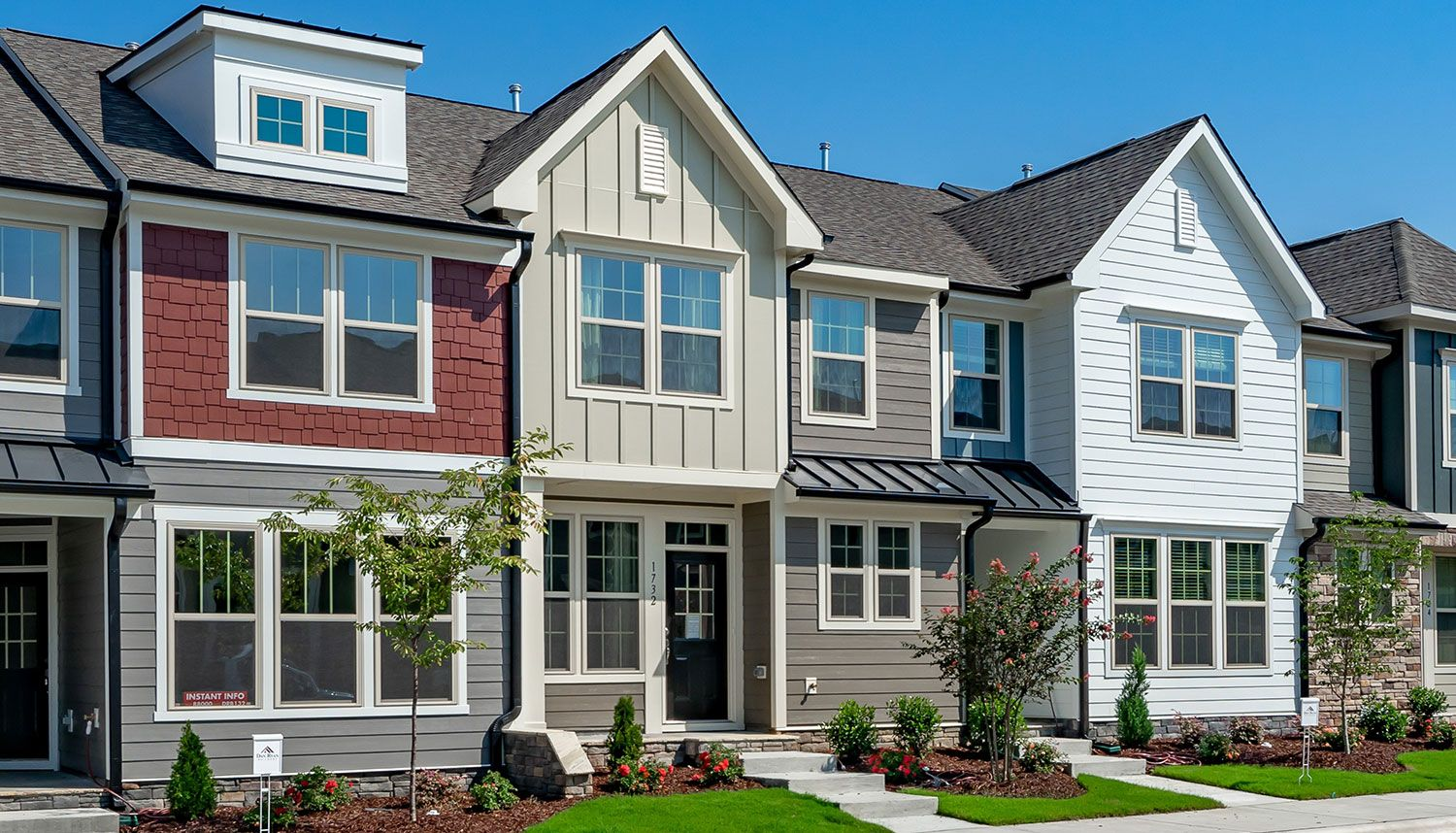 'Wendell Falls Townhomes' by Dan Ryan - Raleigh Region in Raleigh-Durham-Chapel Hill